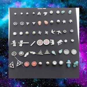 Minimalist Earrings II Nickel Free 30 pairs